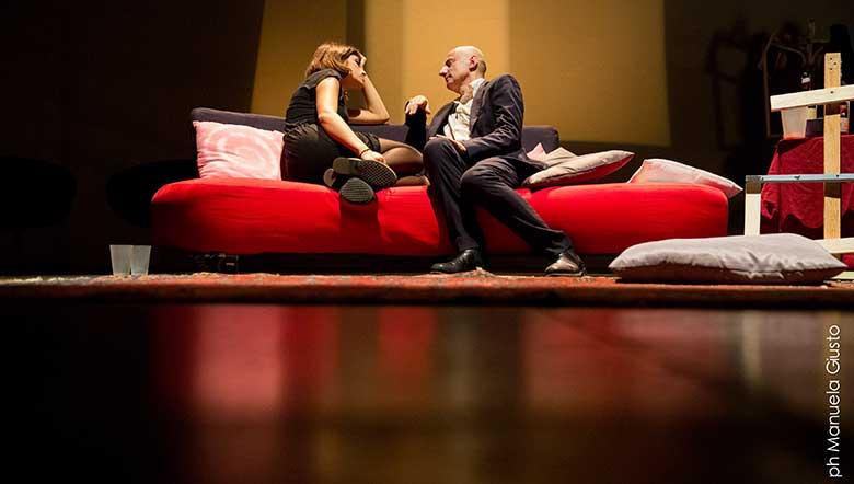 "The Rebekka Kricheldorf text ""Villa Dolorosa"" has become a show in Italy."