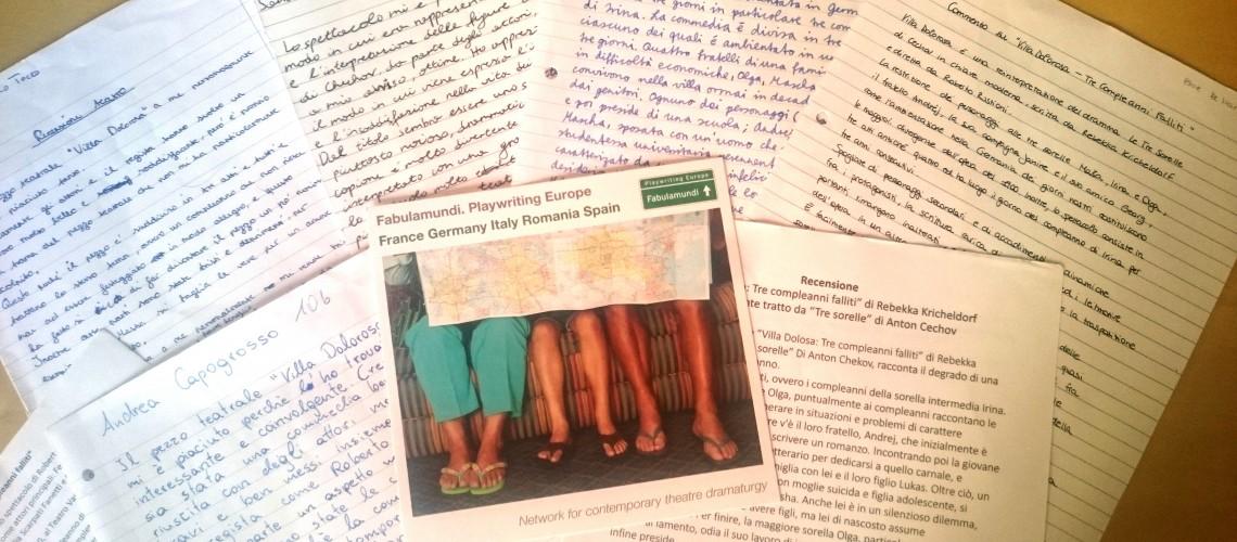 """Students' reviews about """"Villa Dolorosa"""" by Rebekka Kricheldorf"""