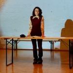 "First preview of ""Materiali per una tragedia tedesca"" by Antonio Tarantino at Itz Berlin"