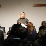 "Final presentation of the workshop on ""Neuf petites filles (Nine little girls)"" by Sandrine Roche"